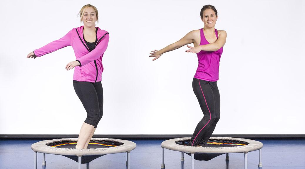 Rebounding / Gymnastik bei der Tanzschule Tanz Eleganz in Baar / Zug
