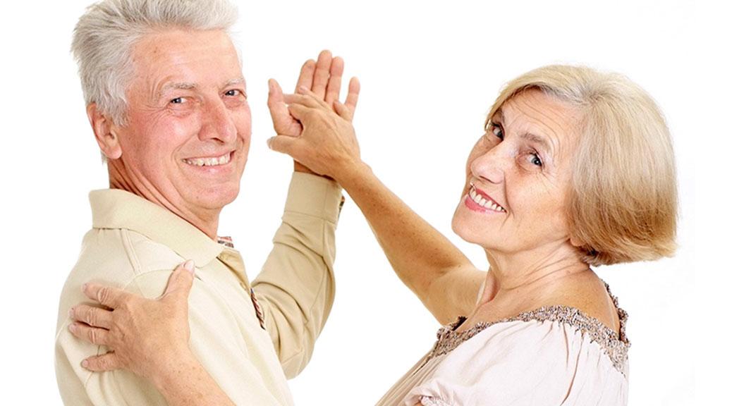 Seniorentanz bei der Tanzschule Tanz Eleganz in Baar / Zug